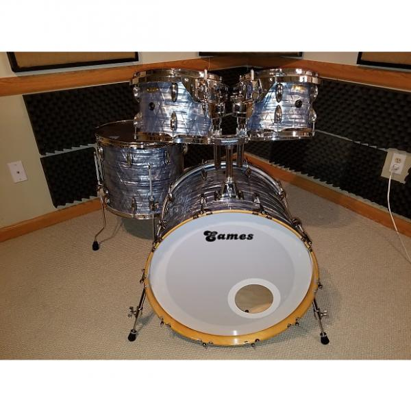 Custom Eames Naturaltone 4 piece shell-pack PBD wrapped #1 image