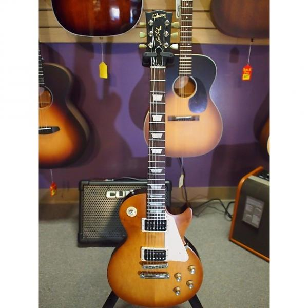 Custom 2016 Gibson Les Paul '50s Tribute Satin Honey Burst with Dark Back #1 image