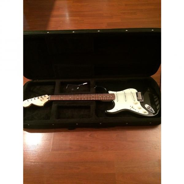 Custom Squier Stratocaster 2012 Black Left Handed #1 image