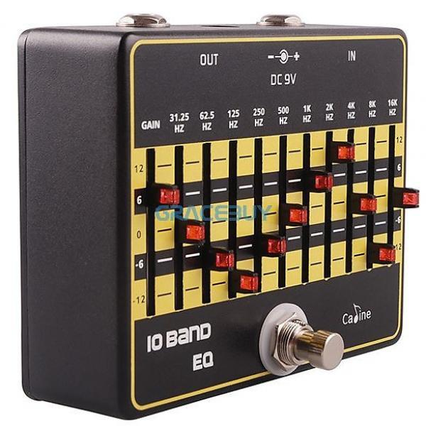 Custom Caline CP-24 - 10 Band EQ! Excellent quality for a reasonable price! MXR Clon_e #1 image