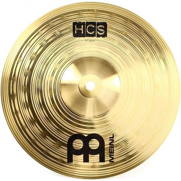 "Custom Meinl Cymbals HCS10S 10"" HCS Traditional Splash #1 image"