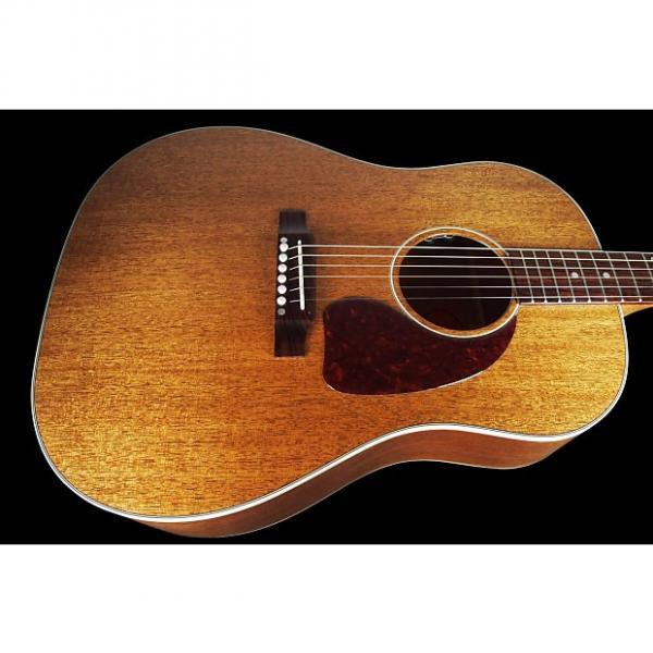 Custom 2016 Gibson J-45 Custom Shop Limited Edition Genuine Mahogany Top, Back & Sides ~ Antique Natural #1 image