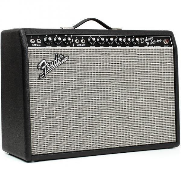 Custom Fender  '65 Deluxe Reverb Guitar Combo Amp #1 image