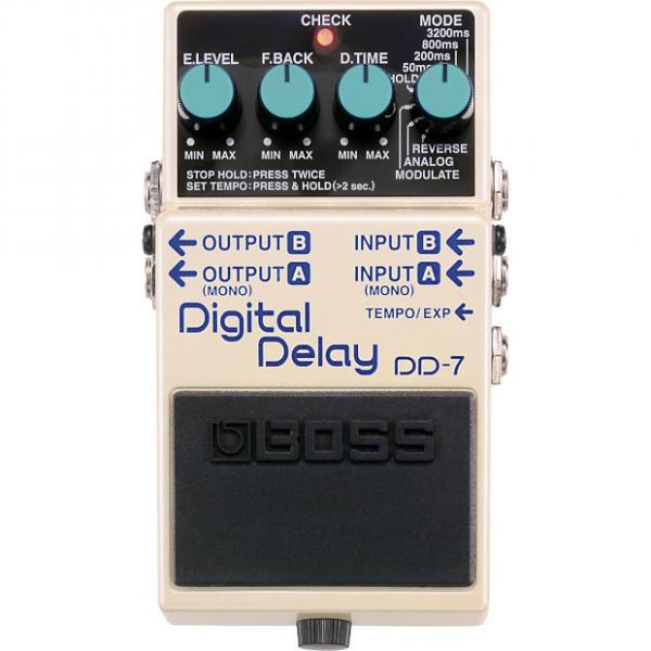 Custom Boss DD-7 Digital Delay 2017 White #1 image