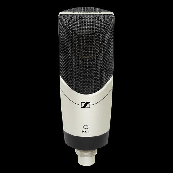 Custom Sennheiser MK4 Large Diaphragm Condenser Microphone - Mint Condition with 6 Month Alto Music Warranty! #1 image