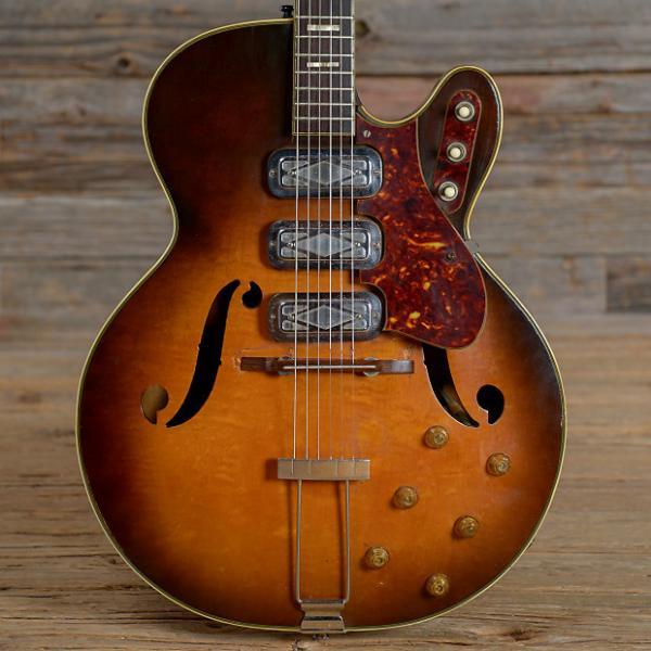 Custom Silvertone Model 1429L Sunburst 1962 (s075) #1 image