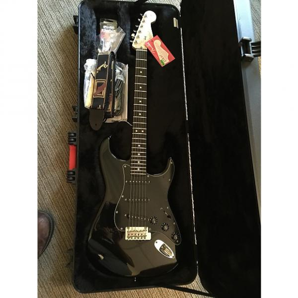 Custom Limited edition American Std. Blackout Stratocaster with ebony fingerboard and OHSC #1 image