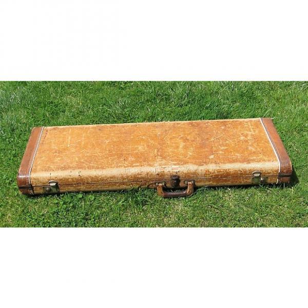 Custom 1958 1959 Fender Tweed Hard Case for Stratocaster, Telecaster, or Esquire #1 image
