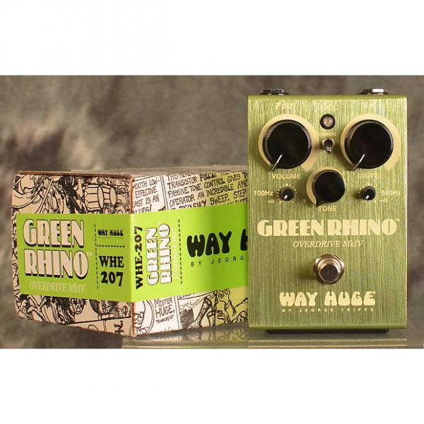 Custom Way Huge Green Rhino WHE207 MKIV w/ TWO FREE Patch Cables & FREE SAME DAY SHIPPING #1 image
