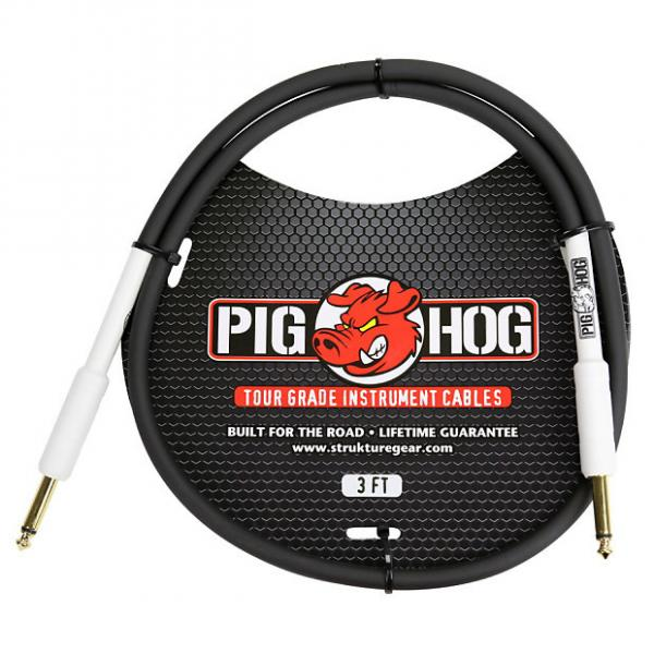 """Custom Pig Hog 3ft 1/4"""" to 1/4"""" Instrument Cable w/ FREE SAME DAY SHIPPING #1 image"""