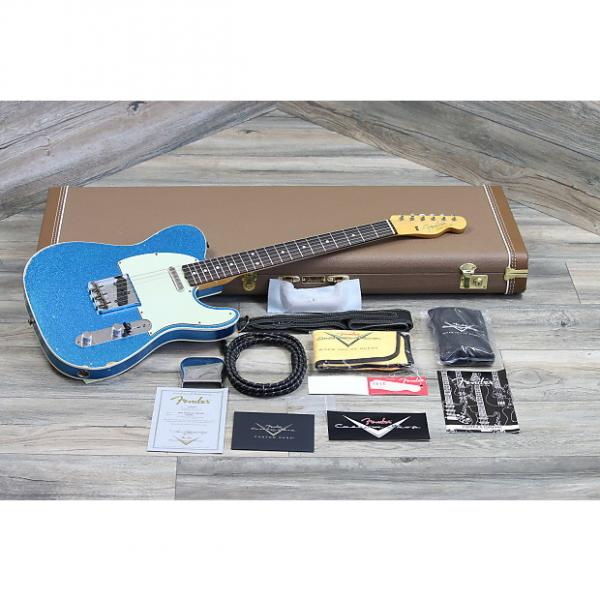 Custom Fender Telecaster '60 Reissue Relic Cusotm Shop 2016 Aged Blue Sparkle #1 image