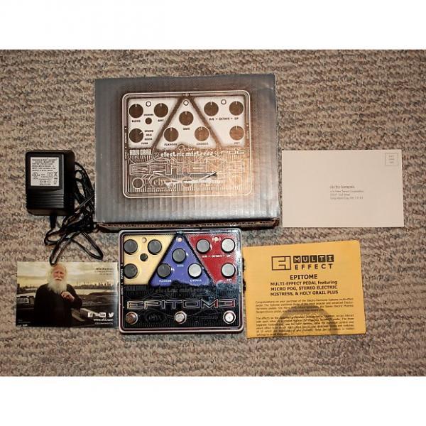Custom Electro-Harmonix Epitome Multi-Effects Pedal (POG, Chorus/Flanger, Reverb) $370 list price #1 image