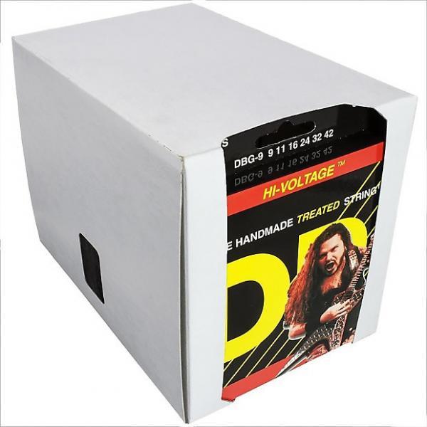 Custom 12 Sets DR Strings Dimebag Darrell HI-VOLTAGE Electric Guitar Strings 9-42 #1 image