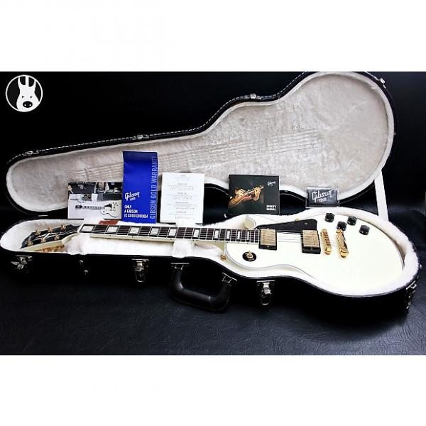 "Custom GIBSON USA Les Paul Custom Light ""Alpine White + Dark Rosewood"" (2015) #1 image"