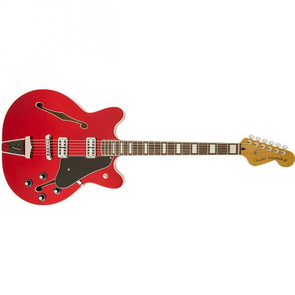 Custom Fender Coronado Guitar Candy Apple Red #1 image