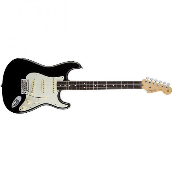 Custom Fender American Standard Stratocaster® Rosewood Fingerboard Black - Default title #1 image