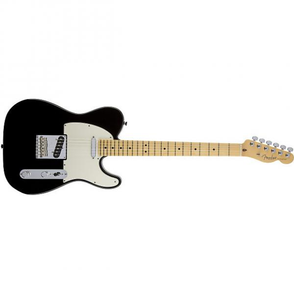 Custom Fender American Standard Telecaster® Maple Fingerboard Black - Default title #1 image