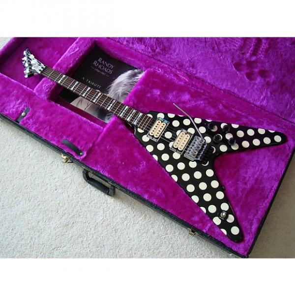Custom Jackson Limited Edition Randy Rhoads Polka Dot V 1997 #1 image