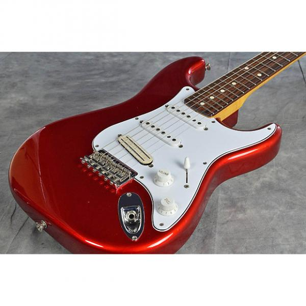 Custom Fender Japan ST62SS  Candy Apple Red #1 image