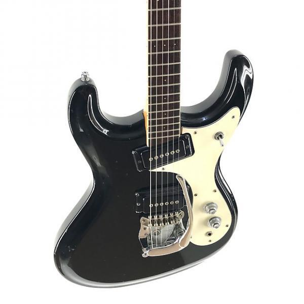 Custom Mosrite Avenger, Firstman Production, 1960-1970's, Black #1 image