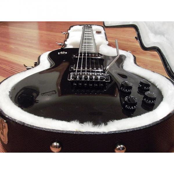 Custom Gibson Les Paul Studio Shred 2012 Guitar Limited Run Ebony Floyd Rose OHSC EXC! #1 image