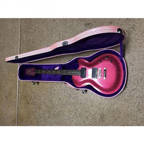 Custom Daisy Rock Rock Candy Sparkly Dark Pink #1 image