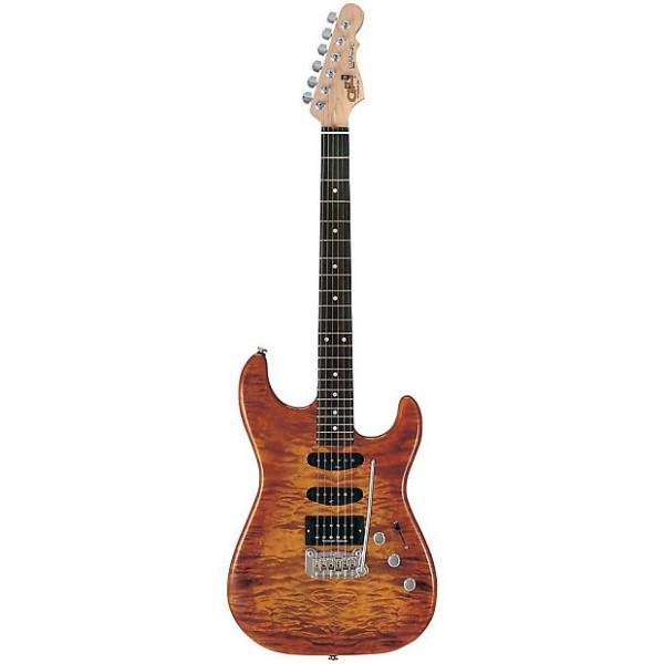 Custom G&L Legacy Deluxe Electric Guitar Honey Burst #1 image