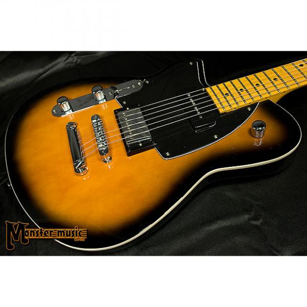 Custom Reverend Lefty Double Agent DAOG 2017 Coffee Burst #1 image