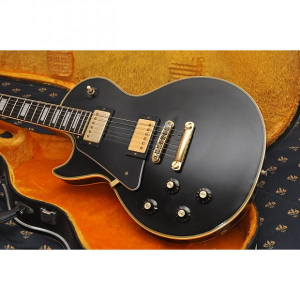 Custom Greco Les Paul Custom 1977 Ebony #1 image