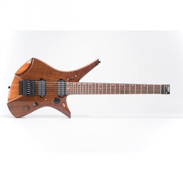Custom Downes Guitars Model 101H7 - Walnut-top 7-string #1 image