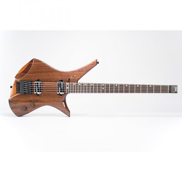 Custom Downes Guitars Model 101HB - Walnut-top Baritone 6-string #1 image