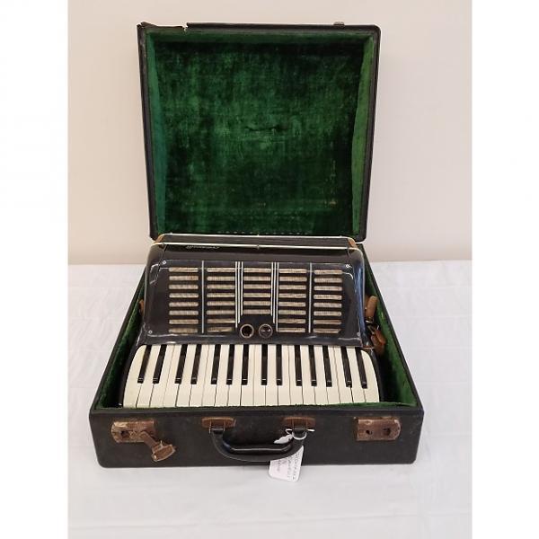 Custom Vintage Crucianelli Model 878 Accordion w/ Case (For Repair) #1 image