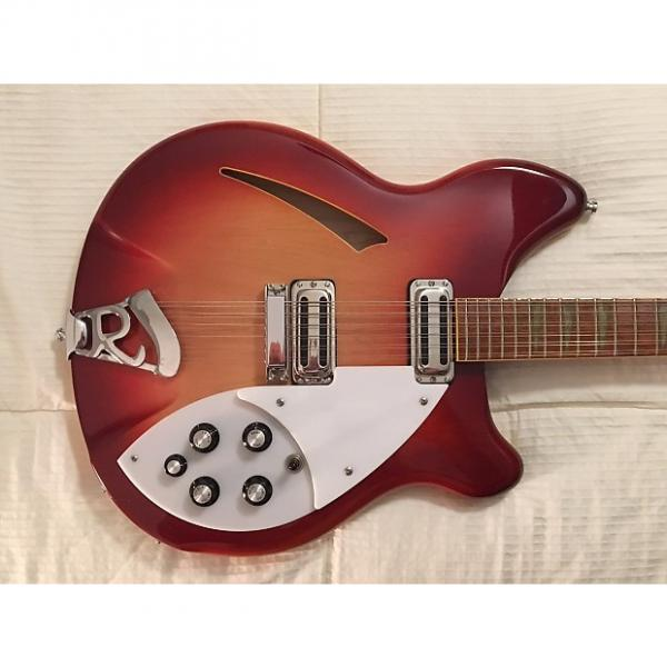 Custom Rickenbacker 360/12 VP 2007 Amber Fireglo Color of the Year w/Case  Toasters!  Amazing Condition! #1 image