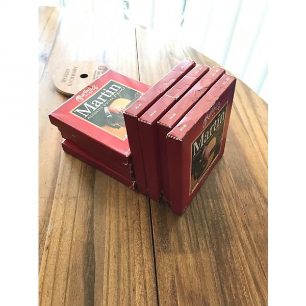 Custom Martin M-140 80/20 Bronze Light Acoustic Strings - Set of 8 #1 image