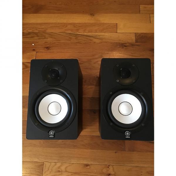 Custom Yamaha HS50M Powered Studio Monitor (Pair) Black #1 image