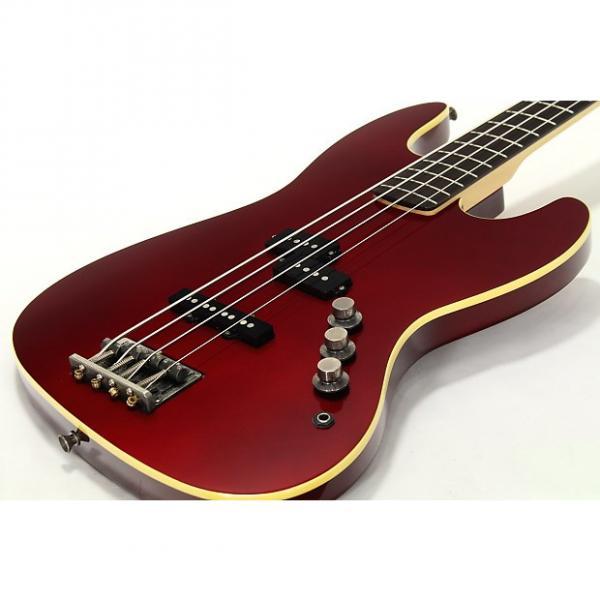 Custom Fender Japan Aerodyne Jazz Bass 72 Old Candy Apple Red #1 image