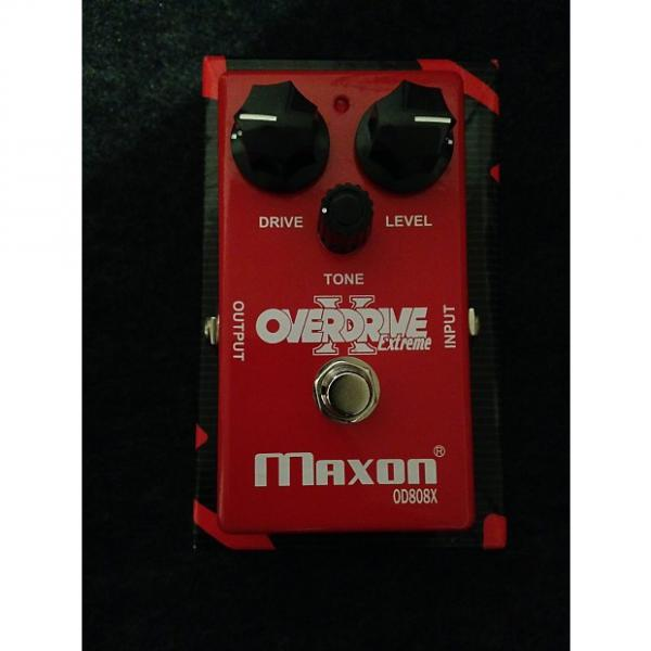 Custom Maxon OD 808X overdrive pedal #1 image