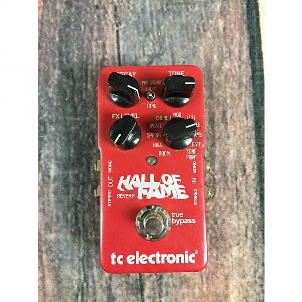 Custom TC Electronic Hall of Fame Reverb Red with original box #1 image