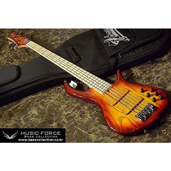 Custom F-Bass BN5 2014 Auburn Burst #1 image
