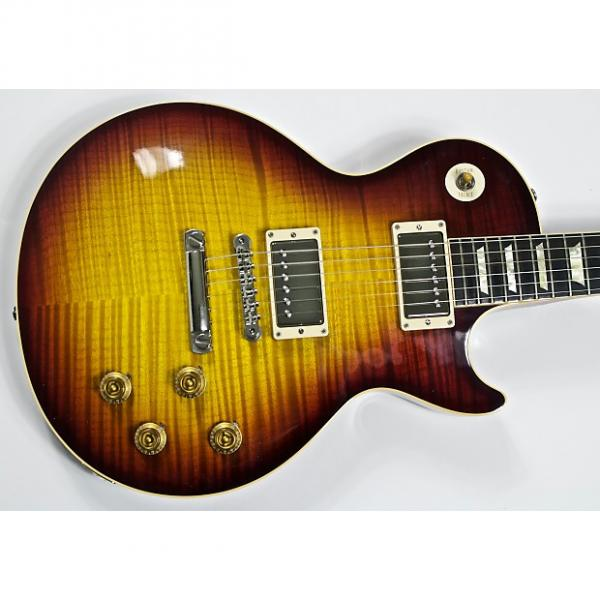 Custom 2009 Gibson Les Paul 1959 Reissue Historic Dark Cherry w/ Custombuckers R9 59 #1 image