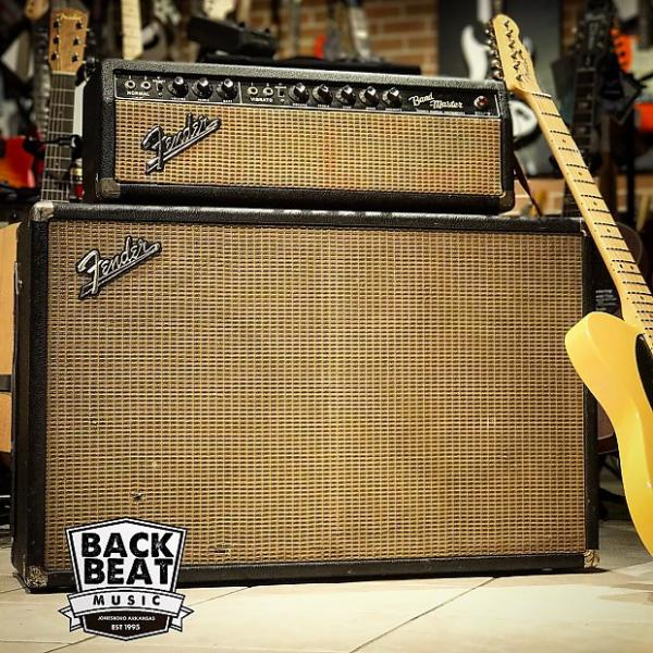 Custom Fender Band-Master Head & 2x12 Cabinet #1 image