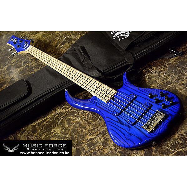 Custom F-Bass BN5 2014 Blue Burst Gloss #1 image