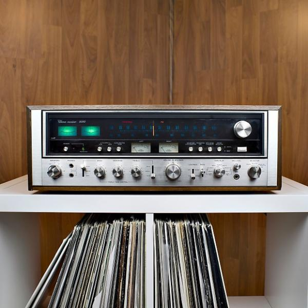 Custom Sansui 9090 Stereo Receiver- Excellent Condition with 60 Day Warranty #1 image