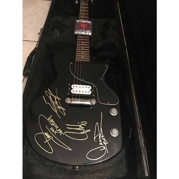 Custom Sepultura signed guitar Epiphone Black #1 image