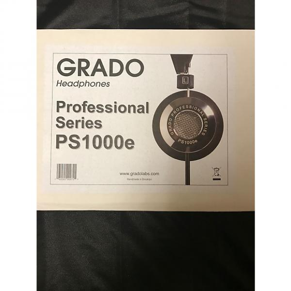 Custom Grado Labs PS 1000 E 2016 Black / Silver #1 image