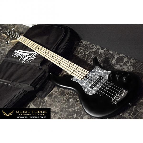 Custom F-Bass VF5-JM 2016 Black Satin #1 image