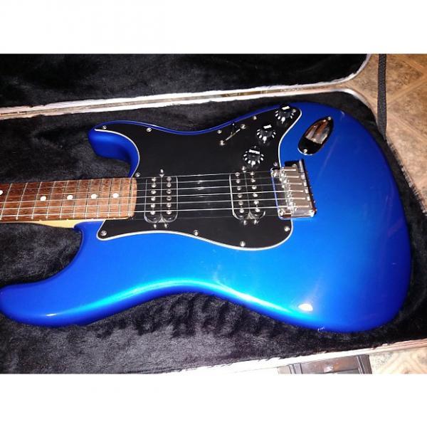 Custom Fender Stratocaster Double Fat Deluxe 2004 Chrome Blue #1 image
