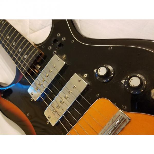 Custom Harmony H802 1973 Sunburst #1 image
