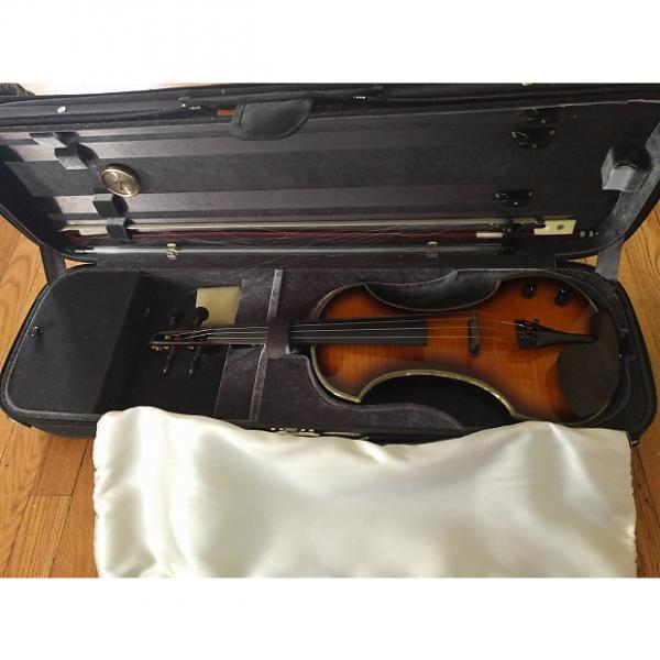 Custom Fender FV-1 Electric Violin 2002 2 Color Sunburst #1 image