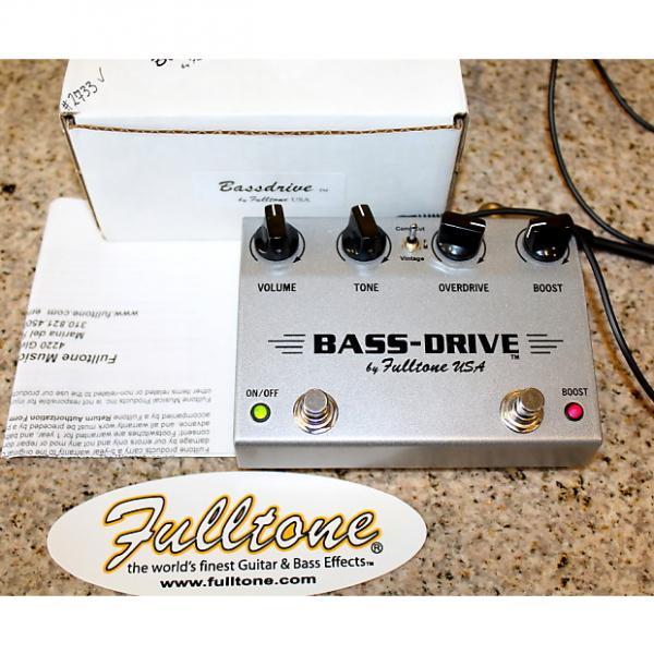 Custom Fulltone Bass-Drive Overdrive & Boost Original packaging #2733 #1 image